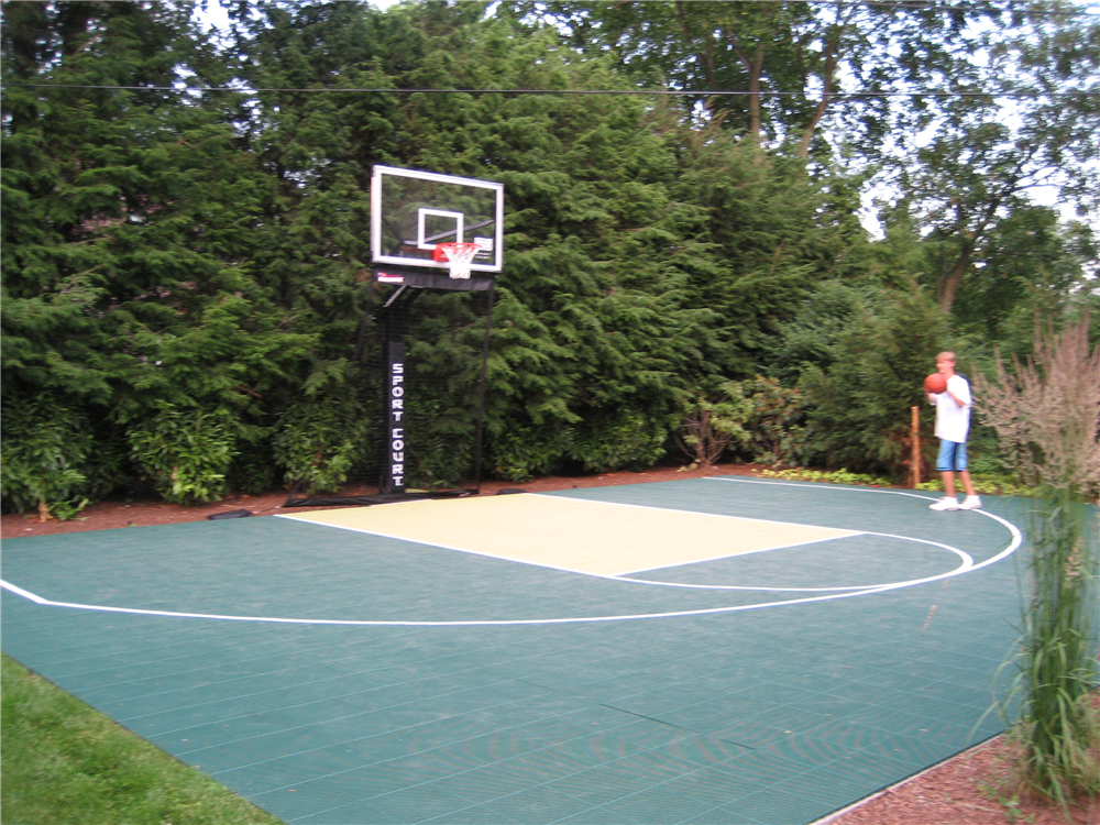 Sport courts images and picture gallery indoor and for Home sports courts