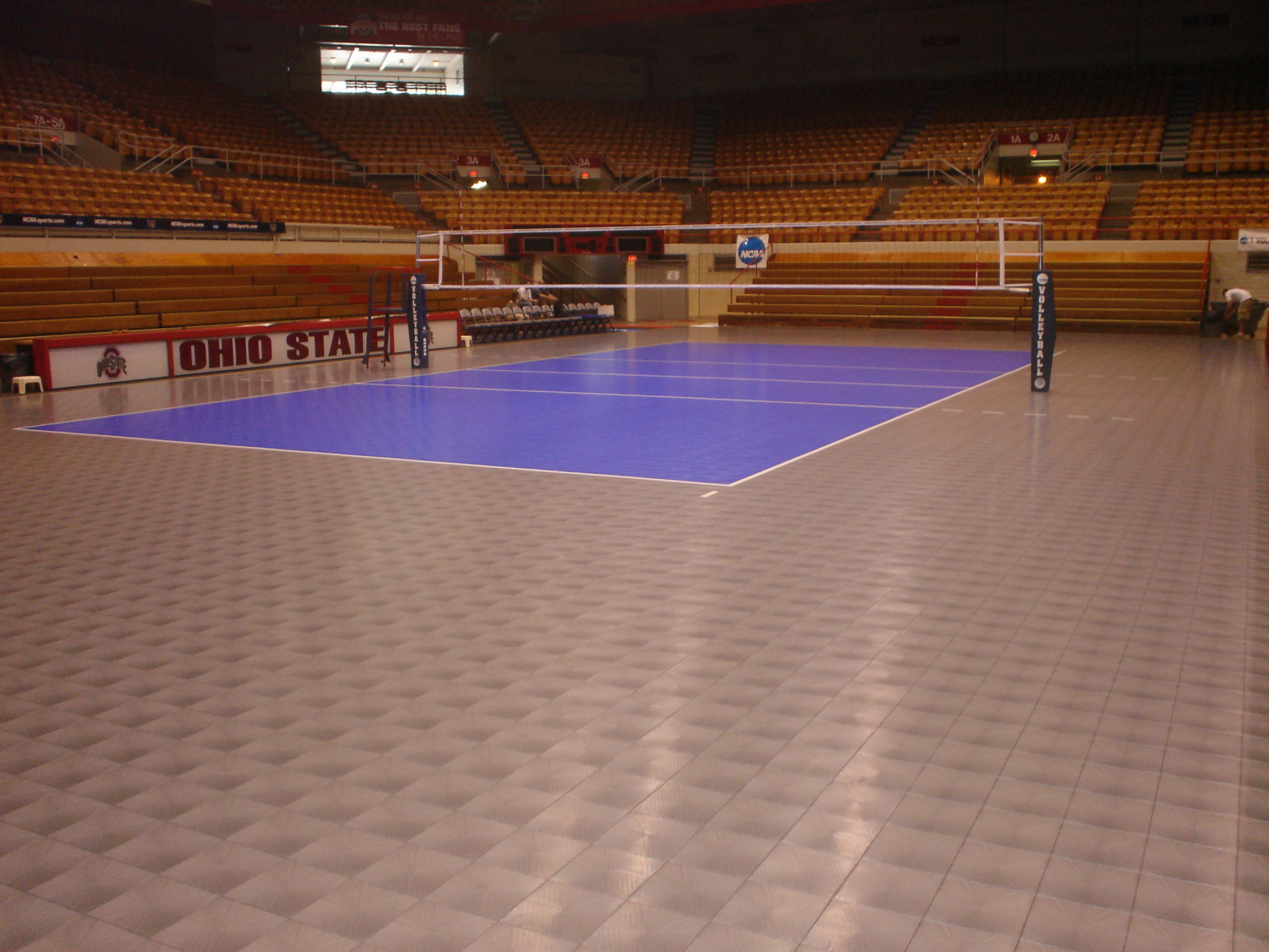 volleyball court desigb