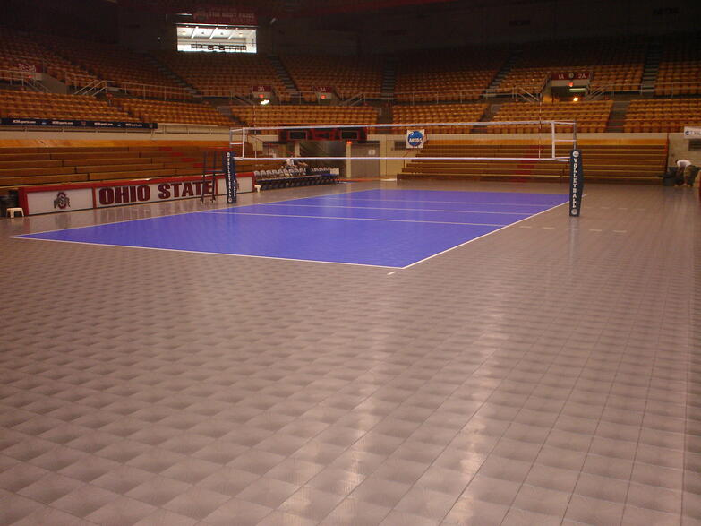 Volleyball Court Flooring Gurus Floor