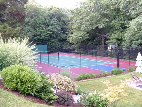 Residential Sport Court installation