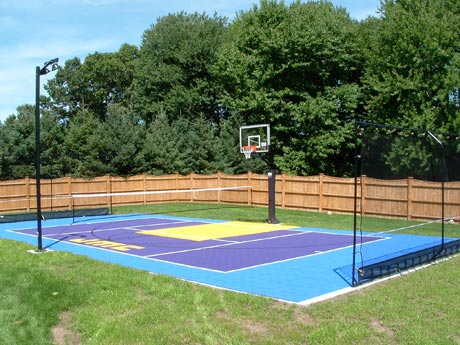 Sport Court multipurpose outdoor game court
